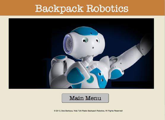 Backpack Robotics, Bob Barboza