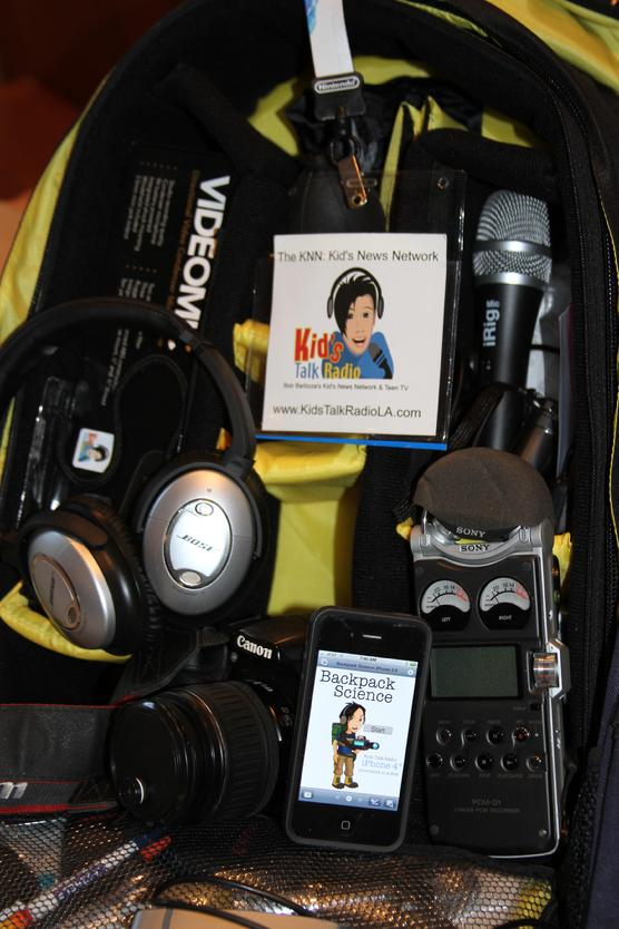 Kids Talk Radio's Student Backpack Journalists