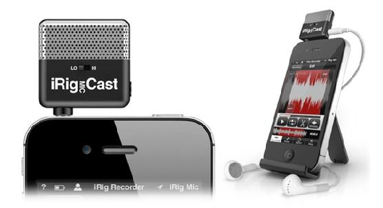 iRig Mic Cast, Kids Talk Radio, Sudent Backpack Journalists